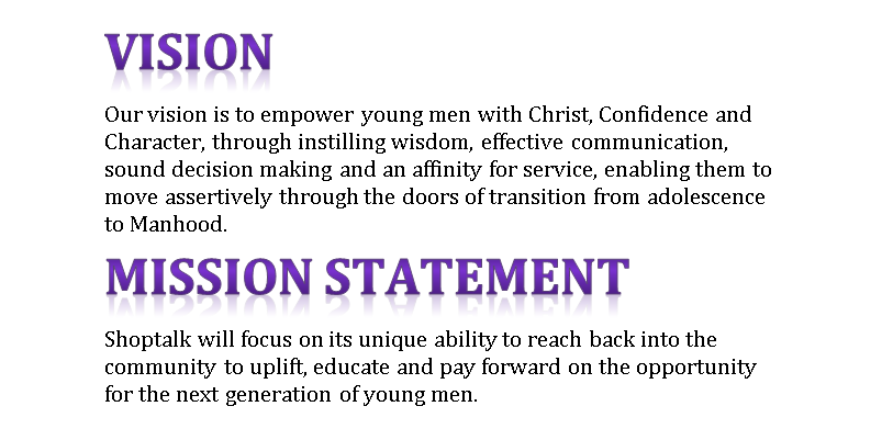 sample christian personal vision statement